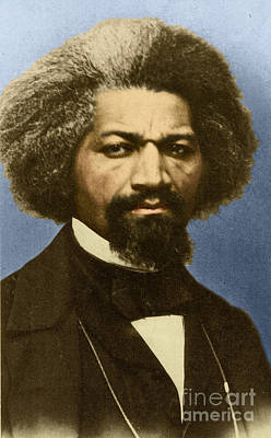 Abolition Photograph - Frederick Douglass by Science Source