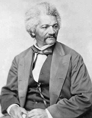 Civil War Photograph - Frederick Douglass by War Is Hell Store