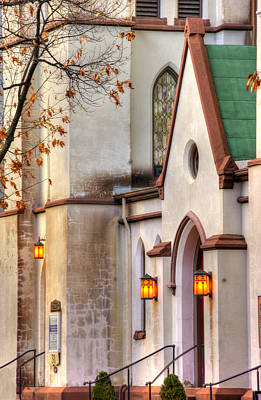 Photograph - Frederick Maryland Historic District Series - The Evangelical Lutheran Church No. 11b, Church Street by Michael Mazaika