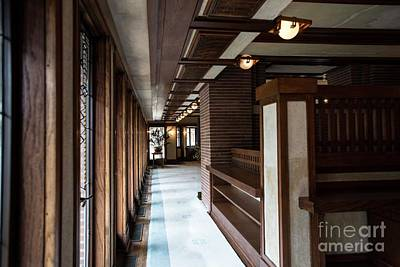 Photograph - Frederick Robie House - 2 by David Bearden