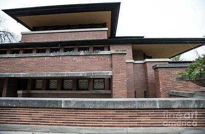 Photograph - Frederick Robie House by David Bearden