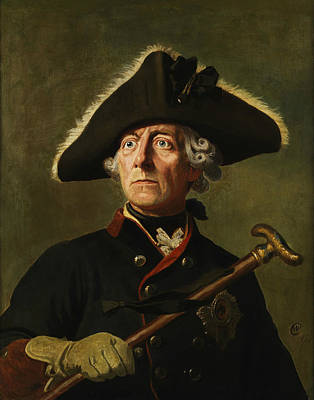 Prussia Painting - Frederick The Great by War Is Hell Store