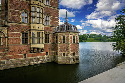 Photograph - Frederiksborg Castle by Andrew Matwijec