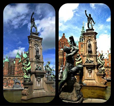 Photograph - Frederiksborg Castle Composite by Jacqueline M Lewis