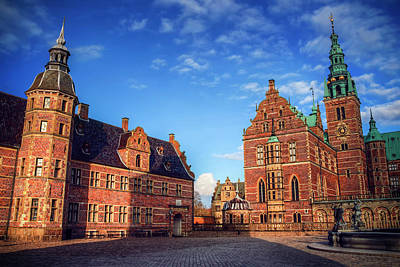 Historic Architecture Photograph - Frederiksborg Slot Denmark  by Carol Japp