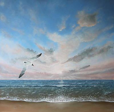 Free As A Bird Art Print by Paul Newcastle