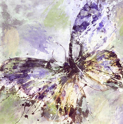 Free Butterfly Art Print by Mindy Sommers