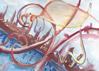 Painting - Free Float by Sheri Jo Posselt