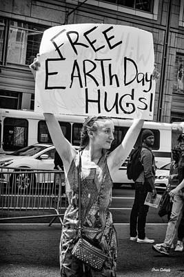 Photograph - Free Hugs by Fran Gallogly