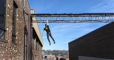 Photograph - Free Running Hang by Spencer Bodian
