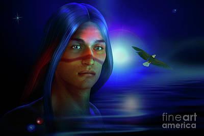Digital Art - Free  Spirit 3 by Shadowlea Is