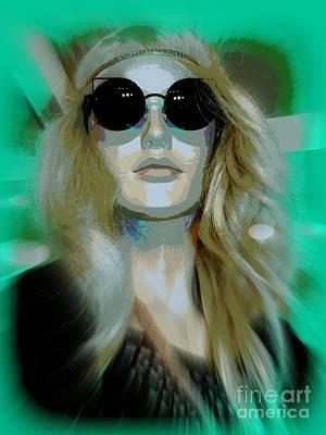 Digital Art - Free Spirit Francie by Ed Weidman