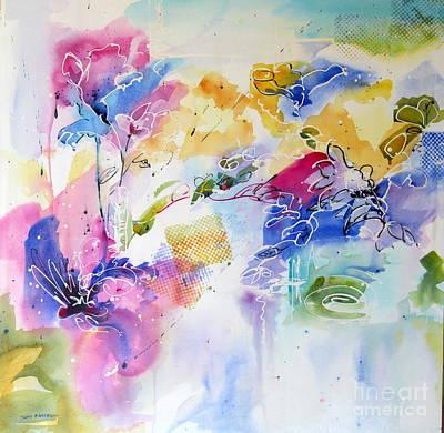 Painting - Free Spirits by John Nussbaum