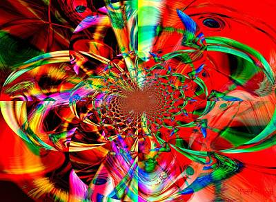 Limited Vision Mixed Media - Free The Arts by Fania Simon