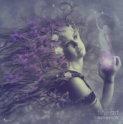 Digital Art - Free The Spirit  by Ali Oppy