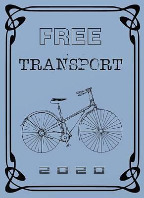 Future Digital Art - Free Transport 3  by Alberto RuiZ