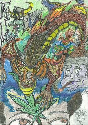 Free Ur Mind Art Print by Justin Chase