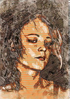 Digital Art - Free Wheelingly by Haruo Obana
