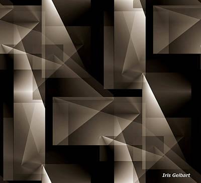 Digital Art - Freedom #2 by Iris Gelbart