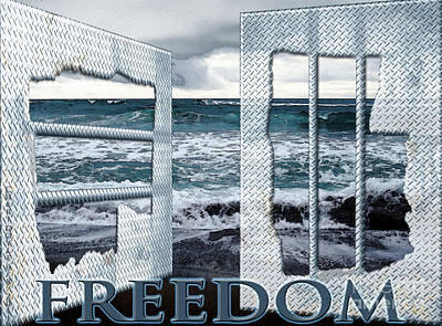 Digital Art - Freedom by Cheri Doyle