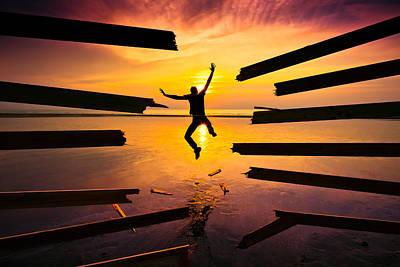 Conceptual Photograph - Freedom by Christophe Kiciak