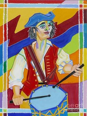 Freedom Drummer Art Print by Loretta Orr