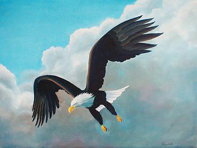Freedom Eagle Art Print by Randall Brewer