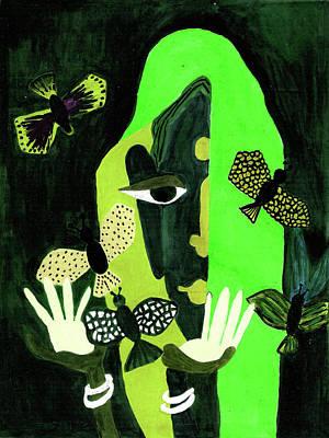 Bangles Painting - Freedom by Farah Faizal