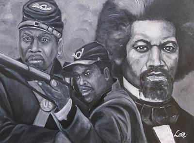 Painting - Freedom Fighters by Joseph Love