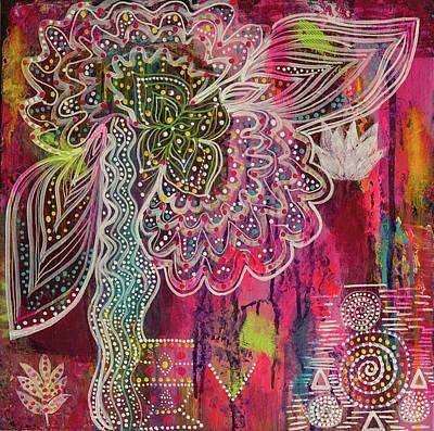 Painting - Freedom Flight by Liana Shanti