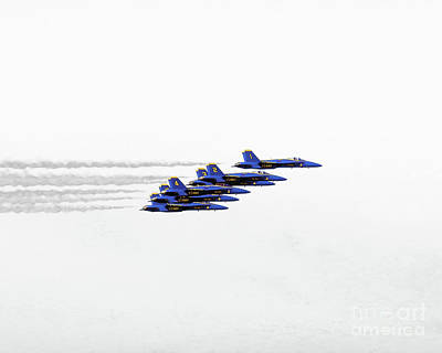 Photograph - Freedom Flyers - The Blue Angels by Scott Cameron