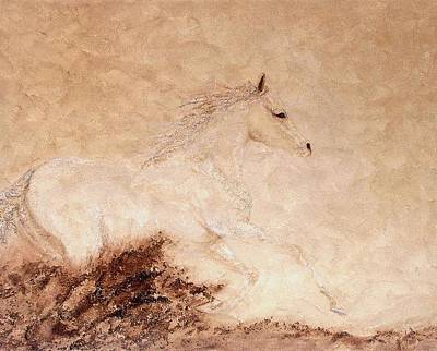 Arabian Horses Mixed Media - Freedom by Gabrielle England