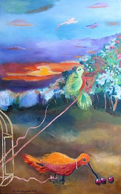 Painting - Freedom Is Subjective by Geeta Biswas