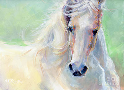 Palomino Painting - Freedom by Kimberly Santini