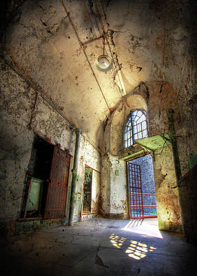 Eastern State Prison Wall Art - Photograph - Freedom by Lori Deiter