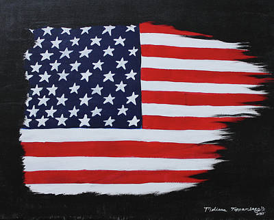 4th Of July Painting - Freedom by Melissa Toppenberg