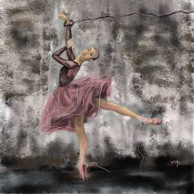 Digital Art - Freedom Of Art by Sladjana Lazarevic