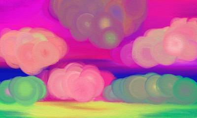 Energy Color Digital Art - Freedom Of Color by Lazar Caran