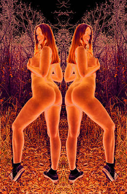 Tall Nude Woman Photograph - Freedom Phases For Your Morality Debate Or Doubled Righteous Acceptance 2014 by James Warren