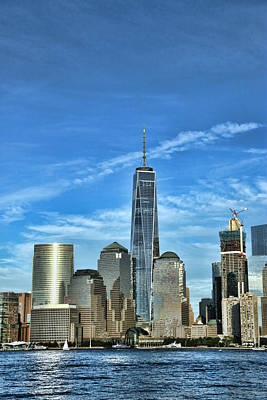 Photograph - Freedom Tower # 2 by Allen Beatty