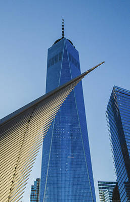 Photograph - Freedom Tower And Oculus At Sunset by Jeff at JSJ Photography
