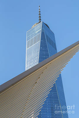Photograph - Freedom Tower And Oculus I by Clarence Holmes