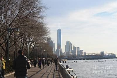 Freedom Tower As Seen From The Village Art Print