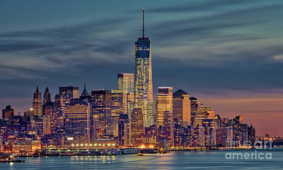 Freedom Tower Construction End Of 2013 Art Print