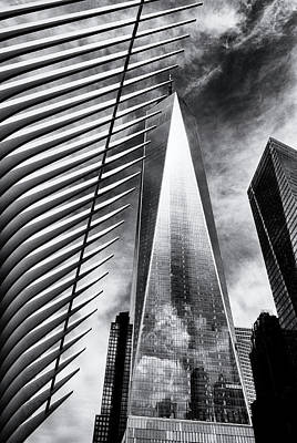 Photograph - Freedom Tower by Frank Winters