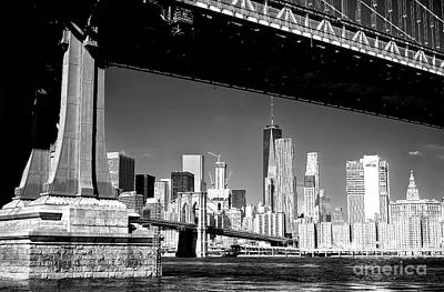 Photograph - Freedom Tower From Brooklyn by John Rizzuto