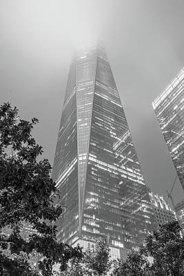Photograph - Freedom Tower Into The Fog  by John McGraw