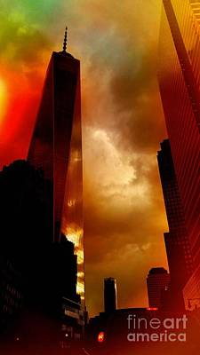 Photograph - Freedom Tower Late Afternoon by Mark Gilman