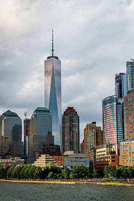 Photograph - Freedom Tower - Lower Manhattan 1 by Frank Mari