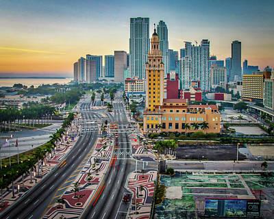 Photograph - Freedom Tower- Miami by Joe Myeress